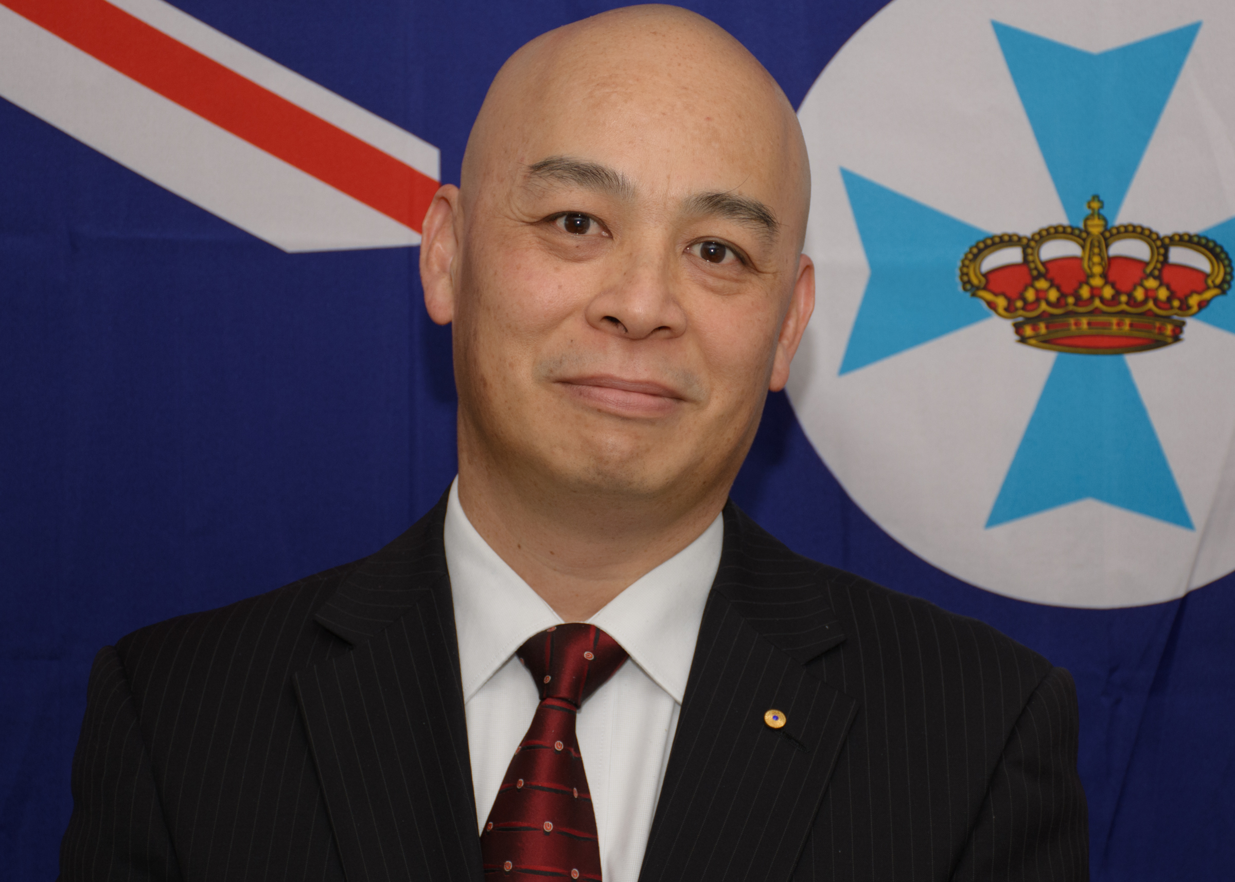 Portrait of Gary Lum
