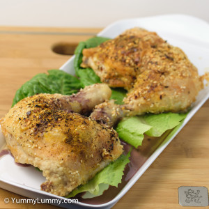 Delicious roasted Chicken Maryland recipe