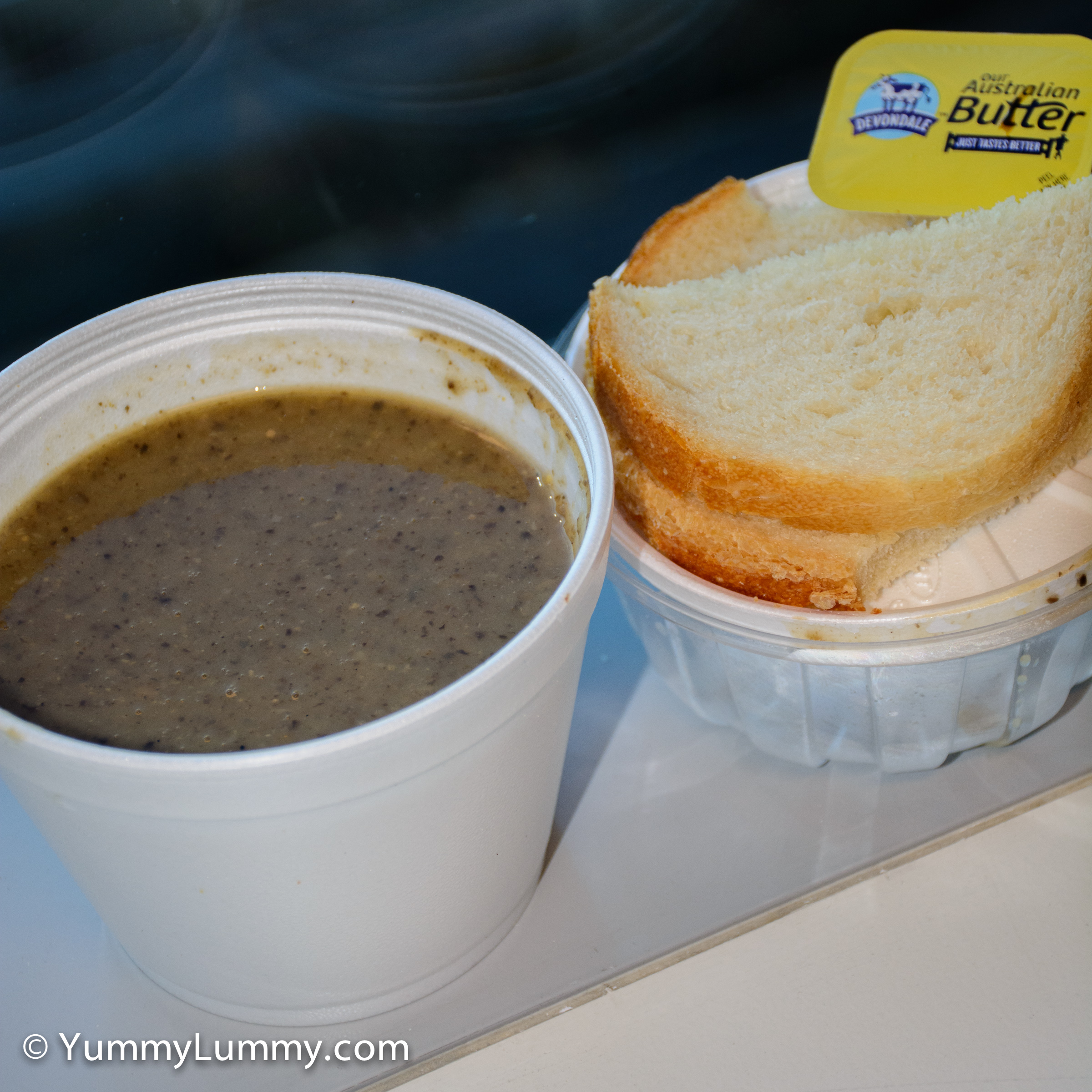 Mushroom soup for lunch #powerofmushrooms