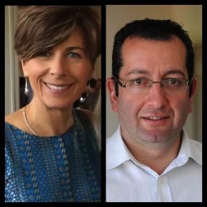 A photo of Michele Walton and Elias Hallaj