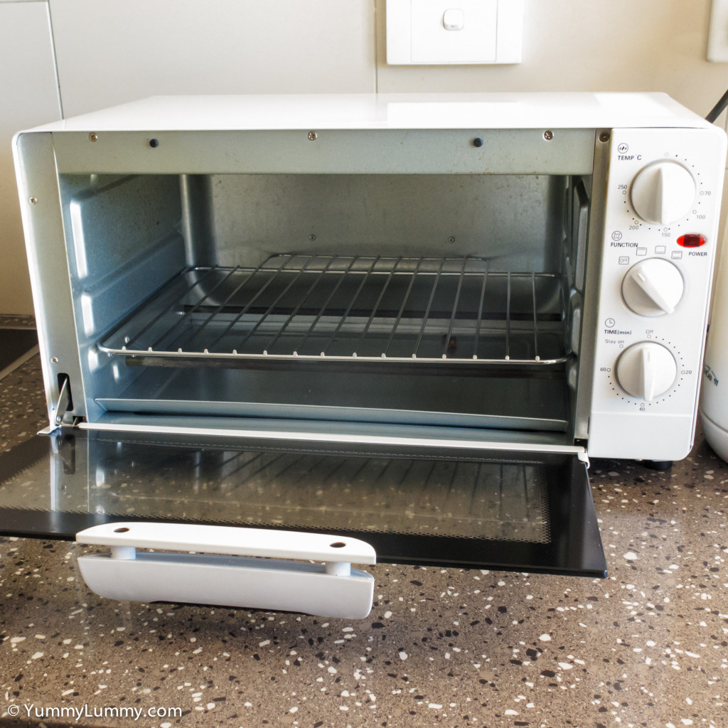 My benchtop oven toaster