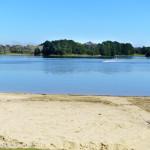 A beach on Lake Ginninderra