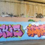 Graffiti on Lake Ginninderra