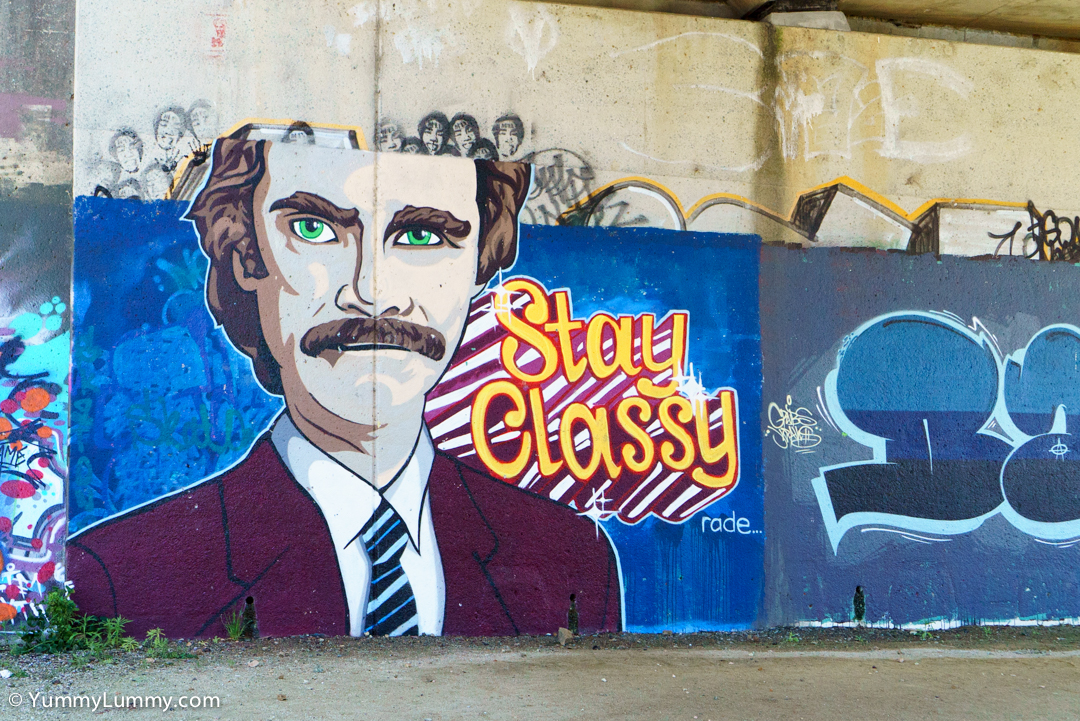 Graffiti on Lake Ginninderra