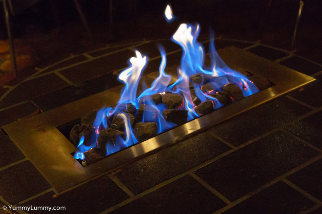 The gas fire was lovely and warm. SONY ILCE-7S with E 35mm F1.8 OSS at 35mm and f/4, 1/250sec, ISO 12800