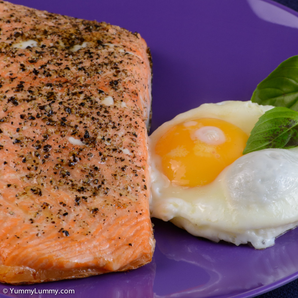 Good morning Family and community fun day breakfast. Salmon and egg. | NIKON D7100 with 55.0-200.0 mm f/4.0-5.6 at 125mm and f/16, 1/30sec, ISO 400