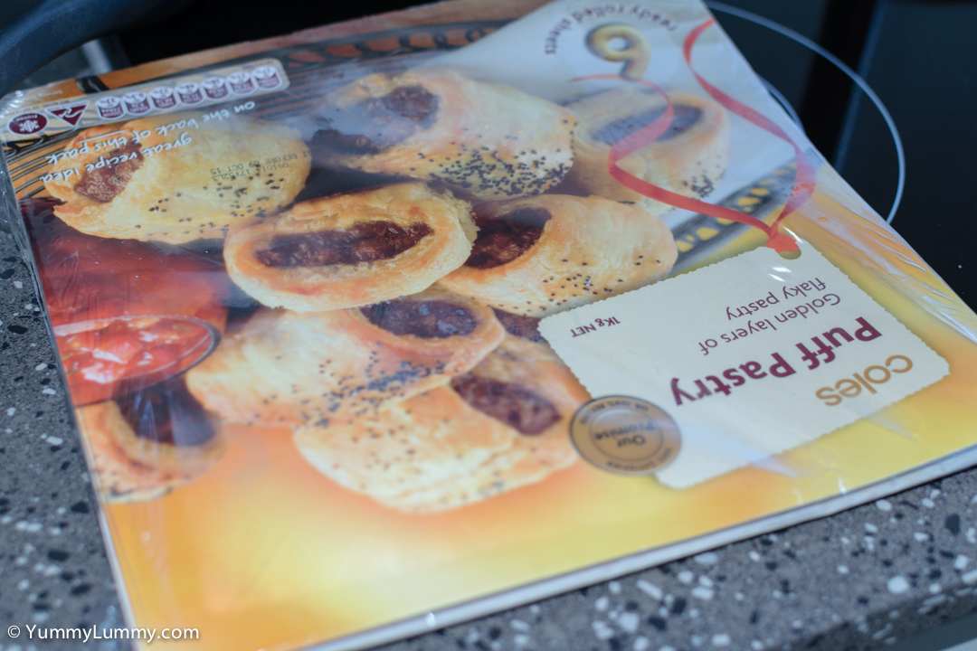 Cheap Coles puff pastry