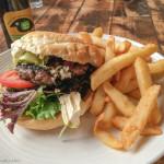 Junee lamb burger