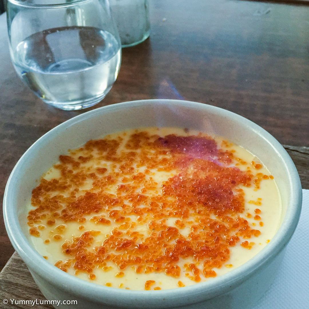 Flambé Crème brûlée A La Vanille (Vanilla Crème Brulée) | Apple iPhone 6 Plus with iPhone 6 Plus back camera 4.15mm f/2.2 at 4mm and f/2.2, 1/15sec, ISO 125