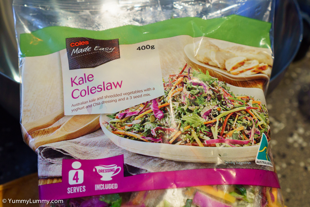 Coles Kale Coleslaw SONY ILCE-7S with E 35mm F1.8 OSS at 35mm and f/5.6, 1/60sec, ISO 800