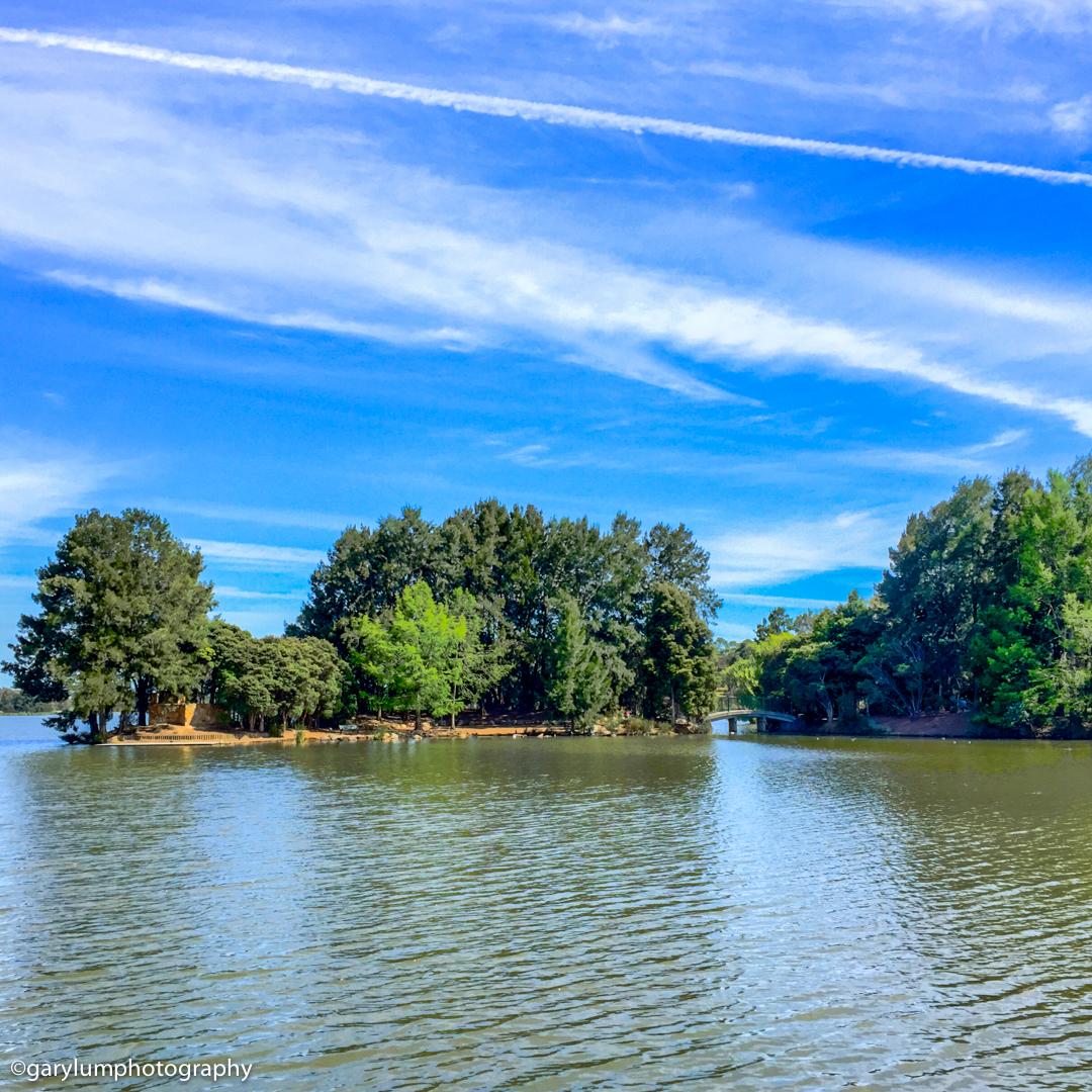 lake Ginninderra from John Knight Memorial Park