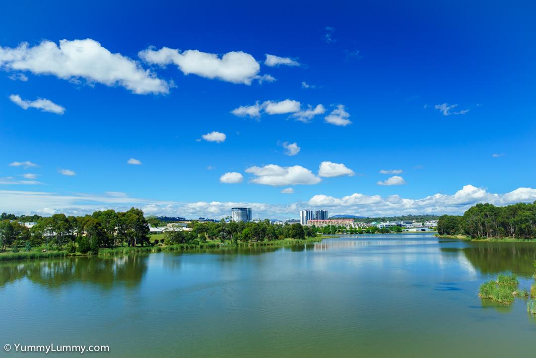 Lake Ginninderra today
