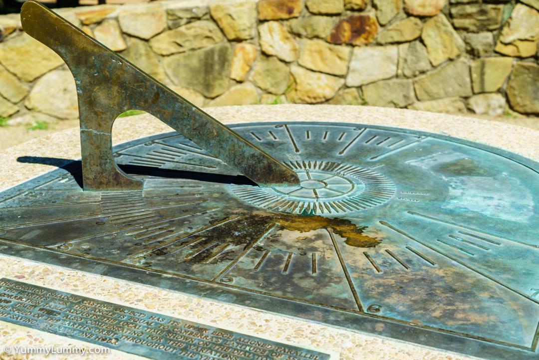 Sundial at John Knight Memorial Park