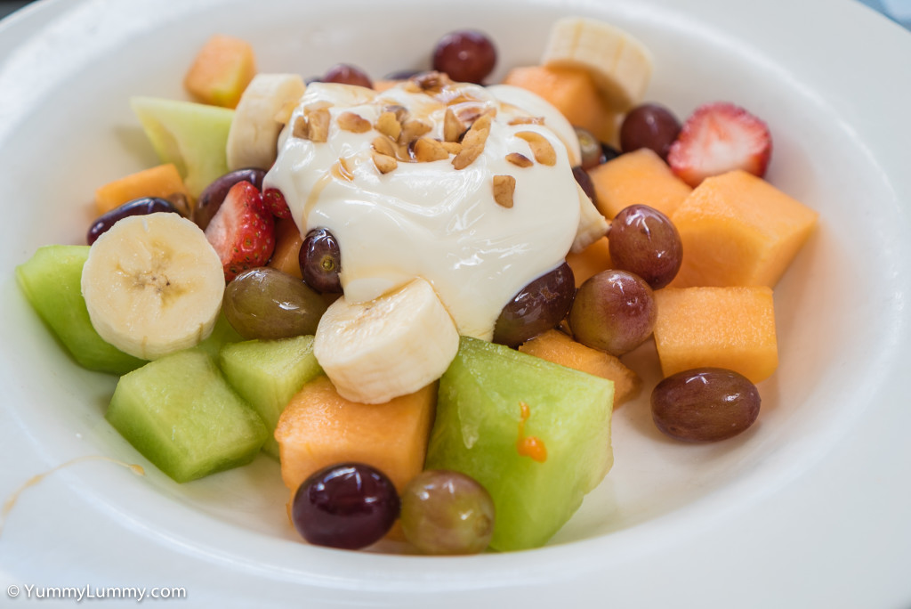F1 fruit salad at Cafe 63 Wilston