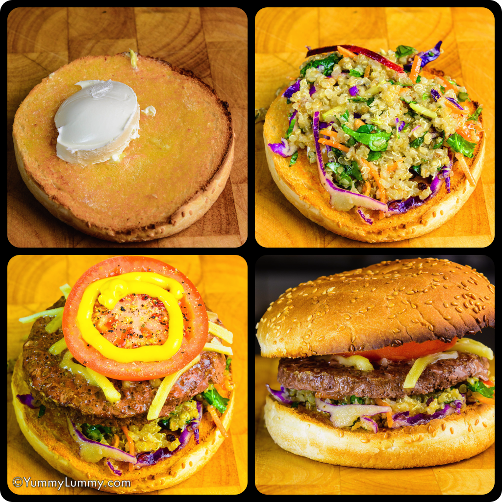 A DipTic of my burger