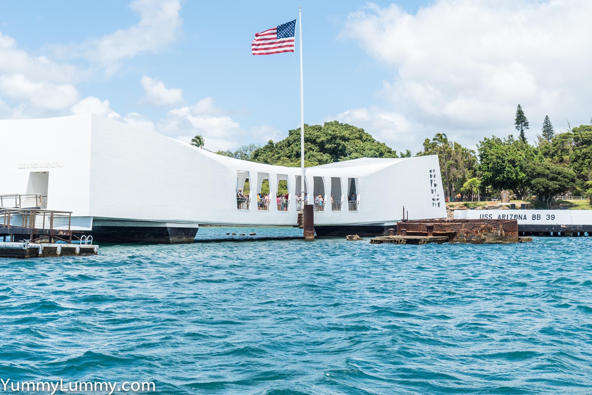 The USS Missouri memorial