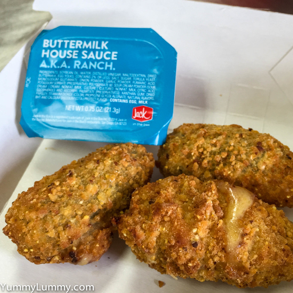 Jack in the box Stuffed jalapeño peppers