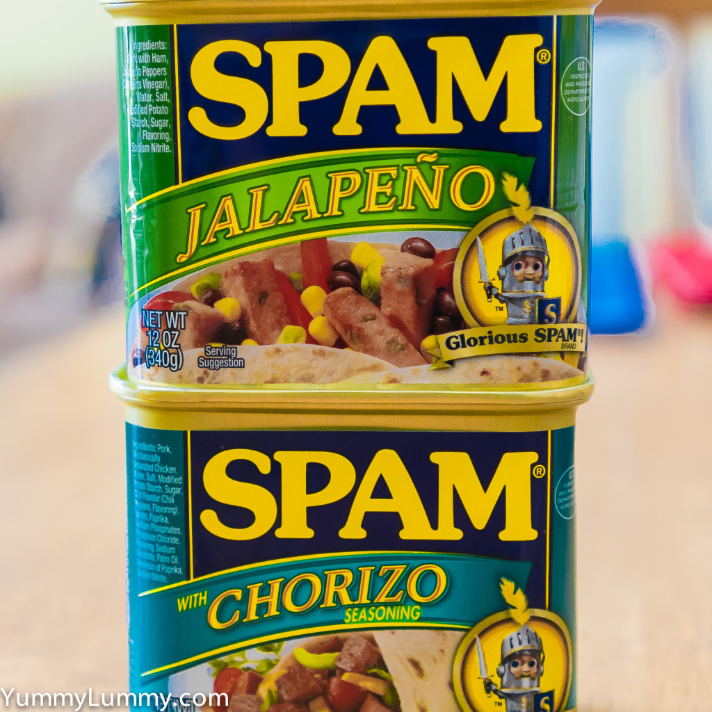 My mini tower of SPAM
