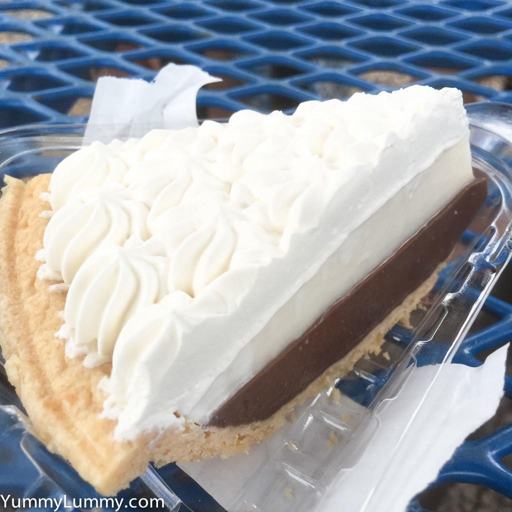 Ted's Bakery's Chocolate Haupia Cream pie
