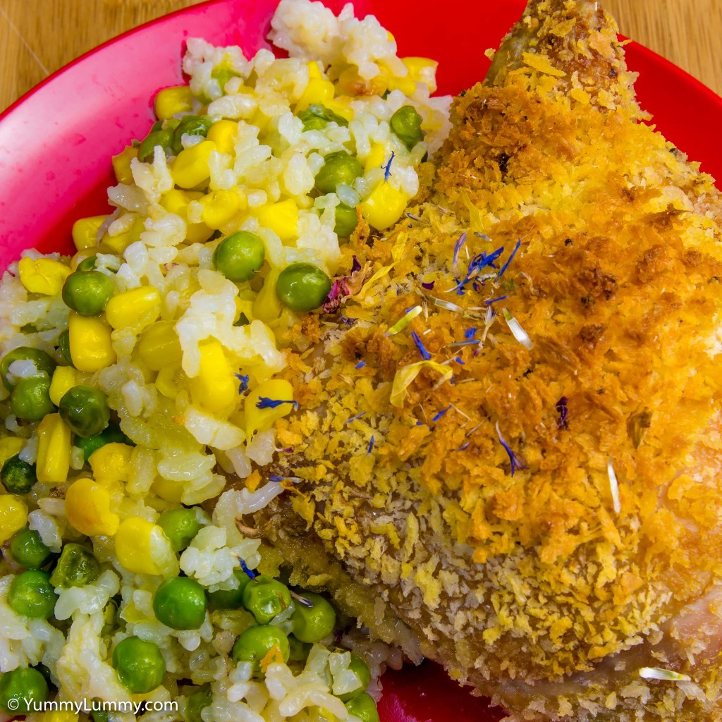 Chicken+Thighs+and+Panko Quick and easy one pot roast panko chicken ...