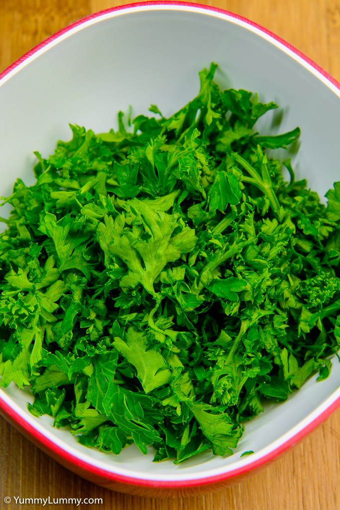 Freshly chopped parsley