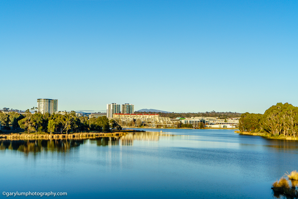 HDR image of Lake Ginninderra