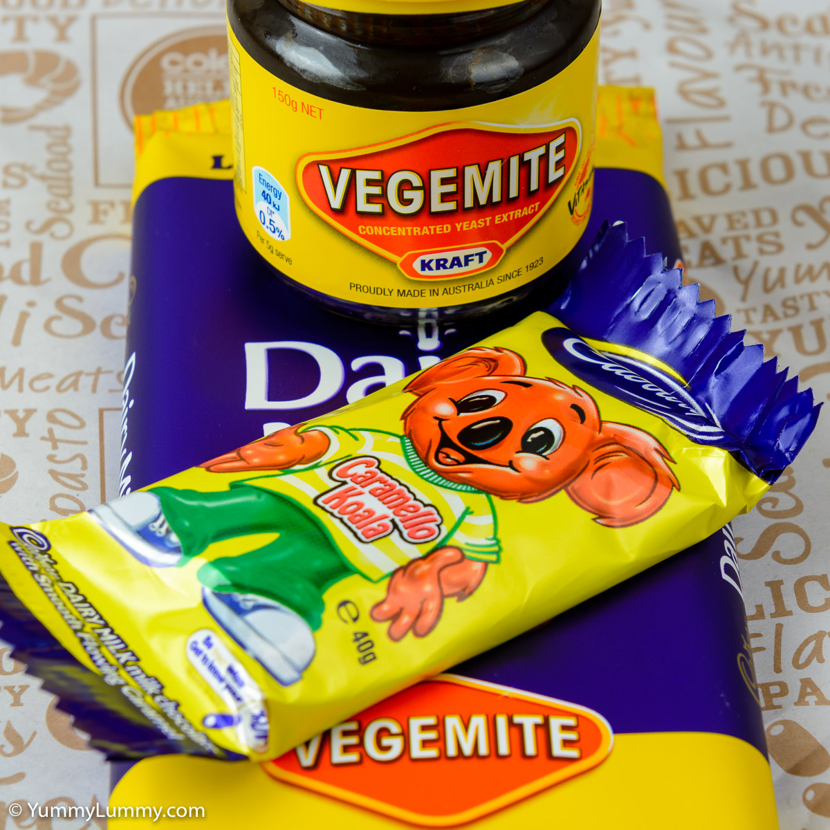Wanting Cadbury to make Vegemite Caramello Koala concept