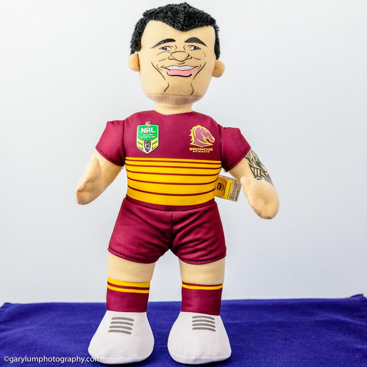 Corey Parker Brisbane Broncos Puppet
