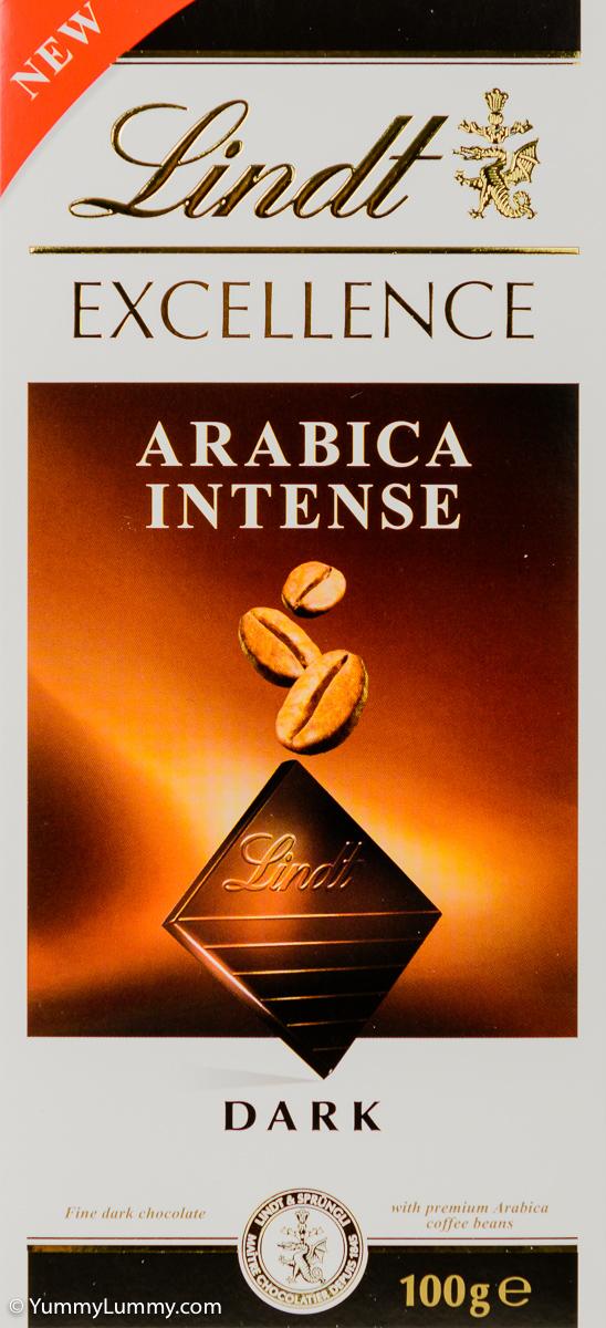 Lindt Arabica Intense dark chocolate