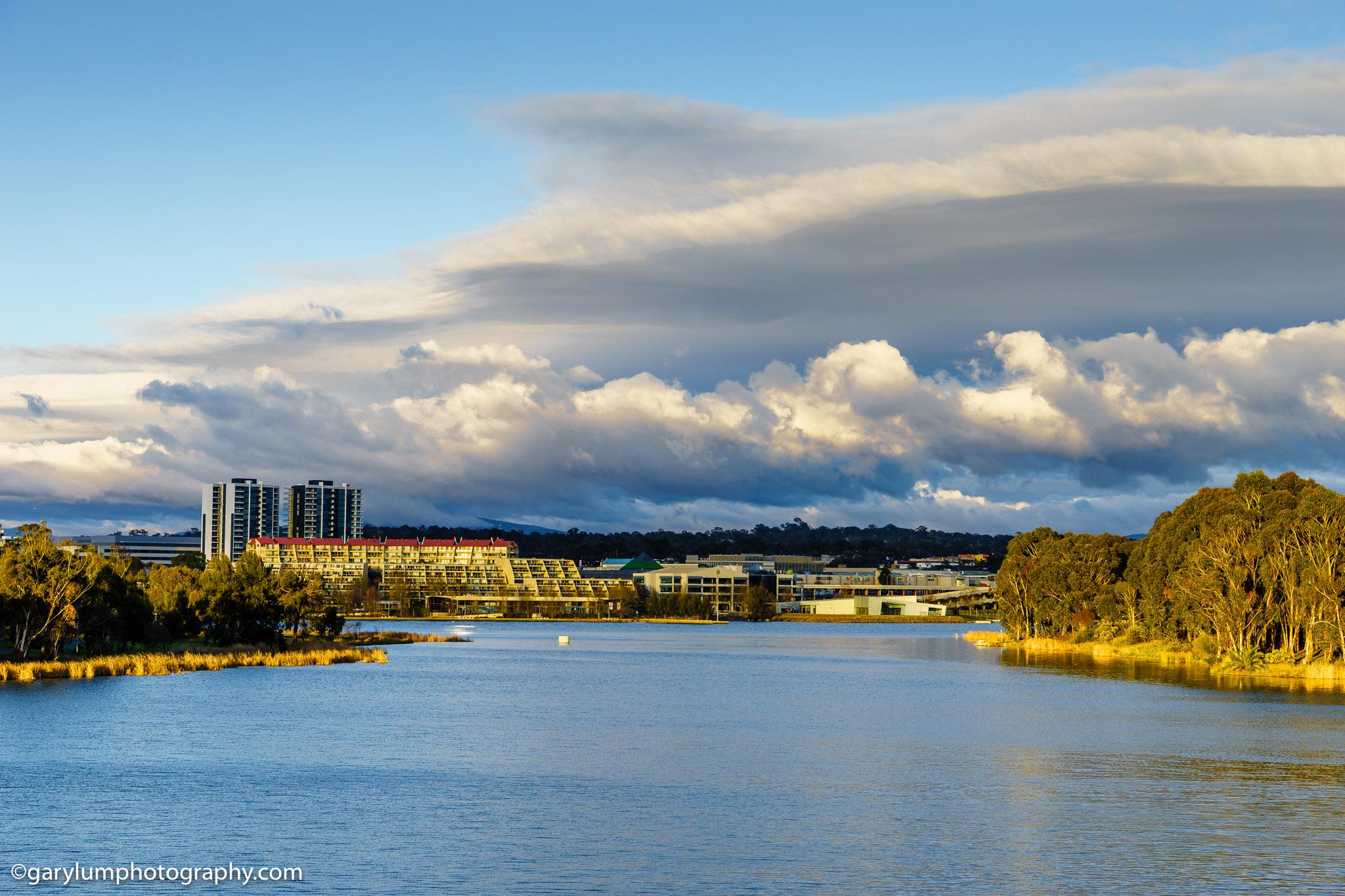 Lake Ginninderra clouds