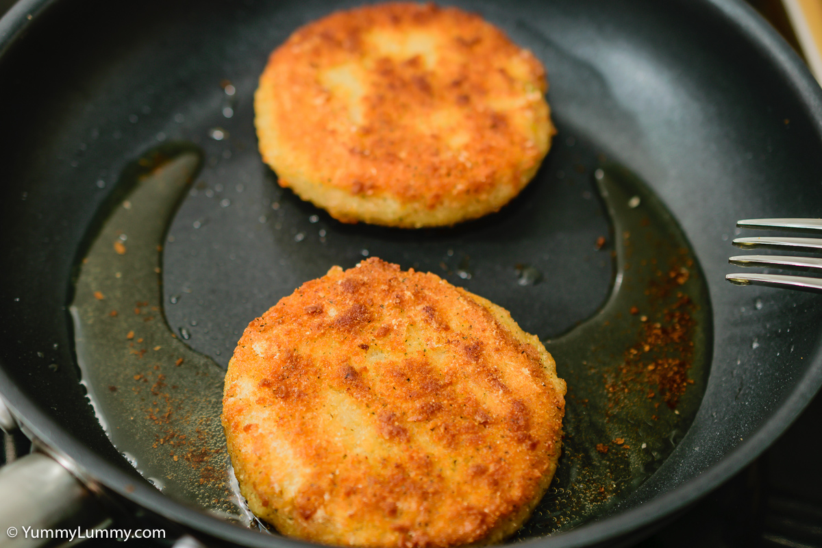 Salmon and vegetable patties
