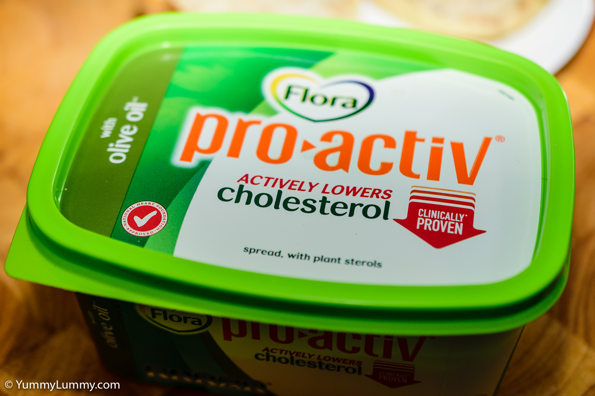 Cholesterol lowering pro-activ spread
