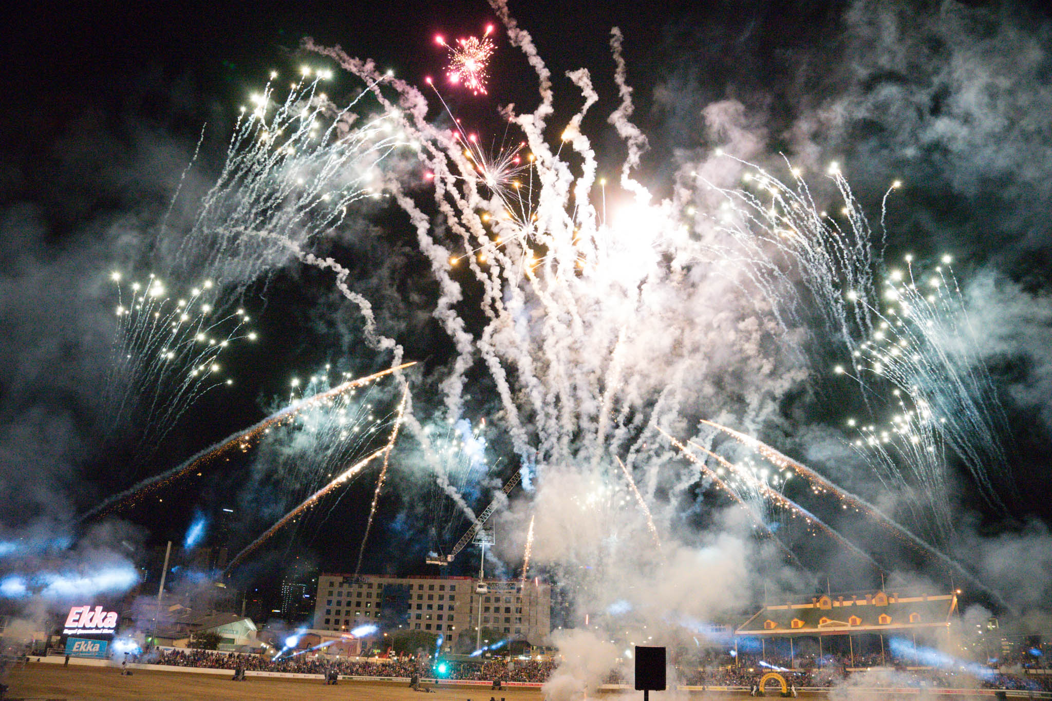 Fireworks at The Ekka