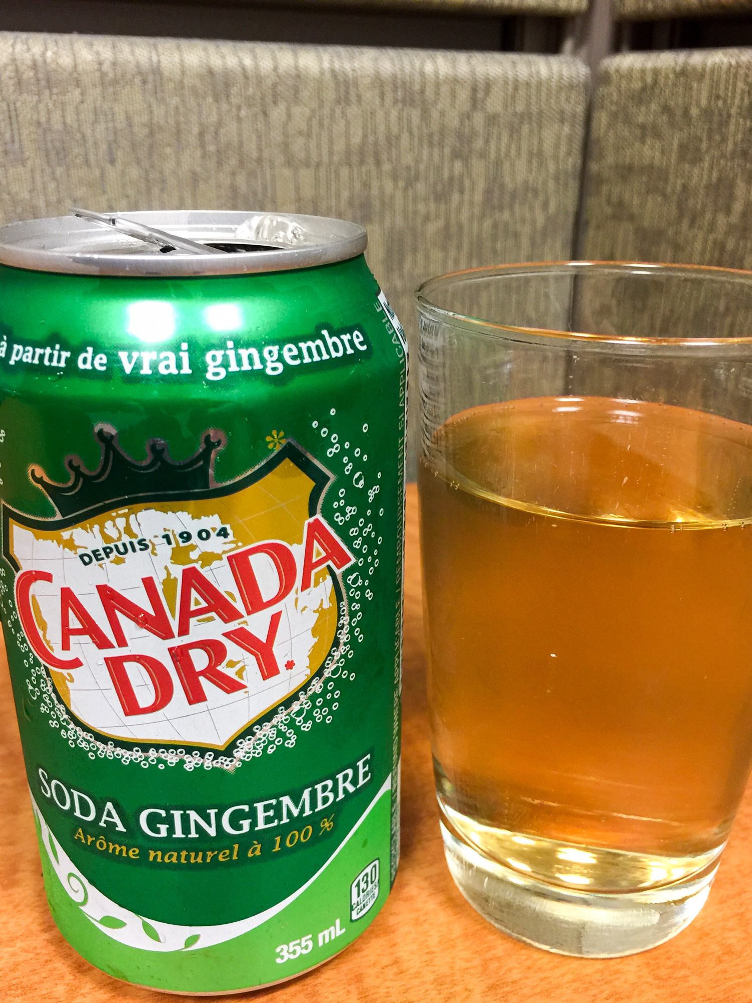 Canada dry at Vancouver Airport