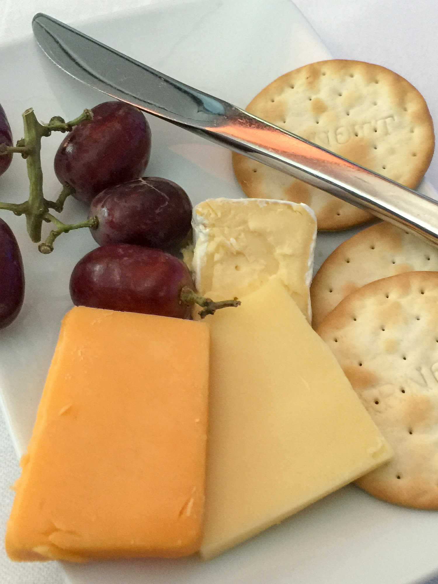 Cheese platter on AC34