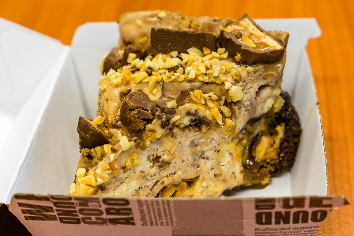 Snickers cheesecake from Urban Bean Espresso Bar