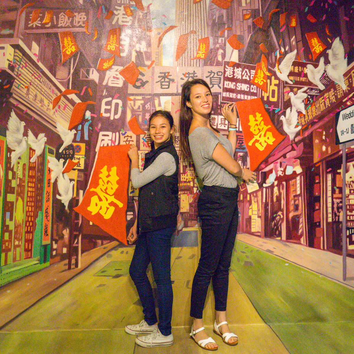 HK3DMUSEUM with Miss14 and Ms20