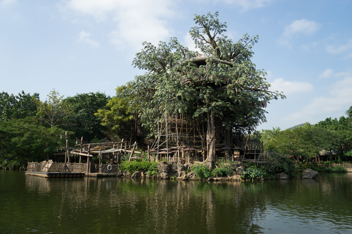 The Adventureland treehouse
