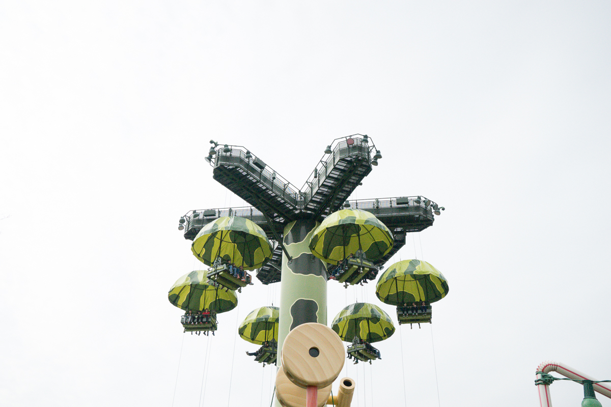 Toy Story Parachute Ride
