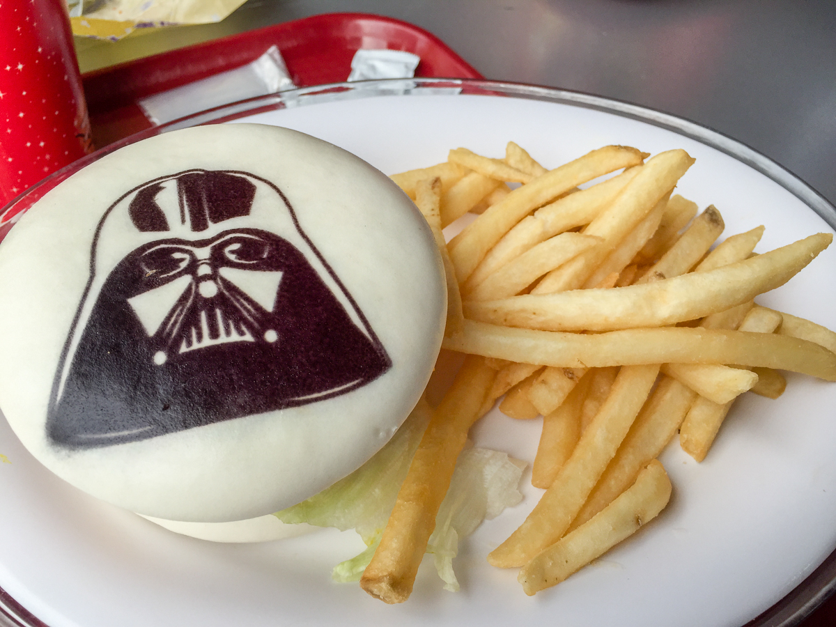 Darth Vader Cheeseburger