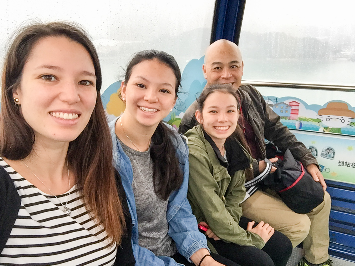 A selfie from Ngong Ping cable car