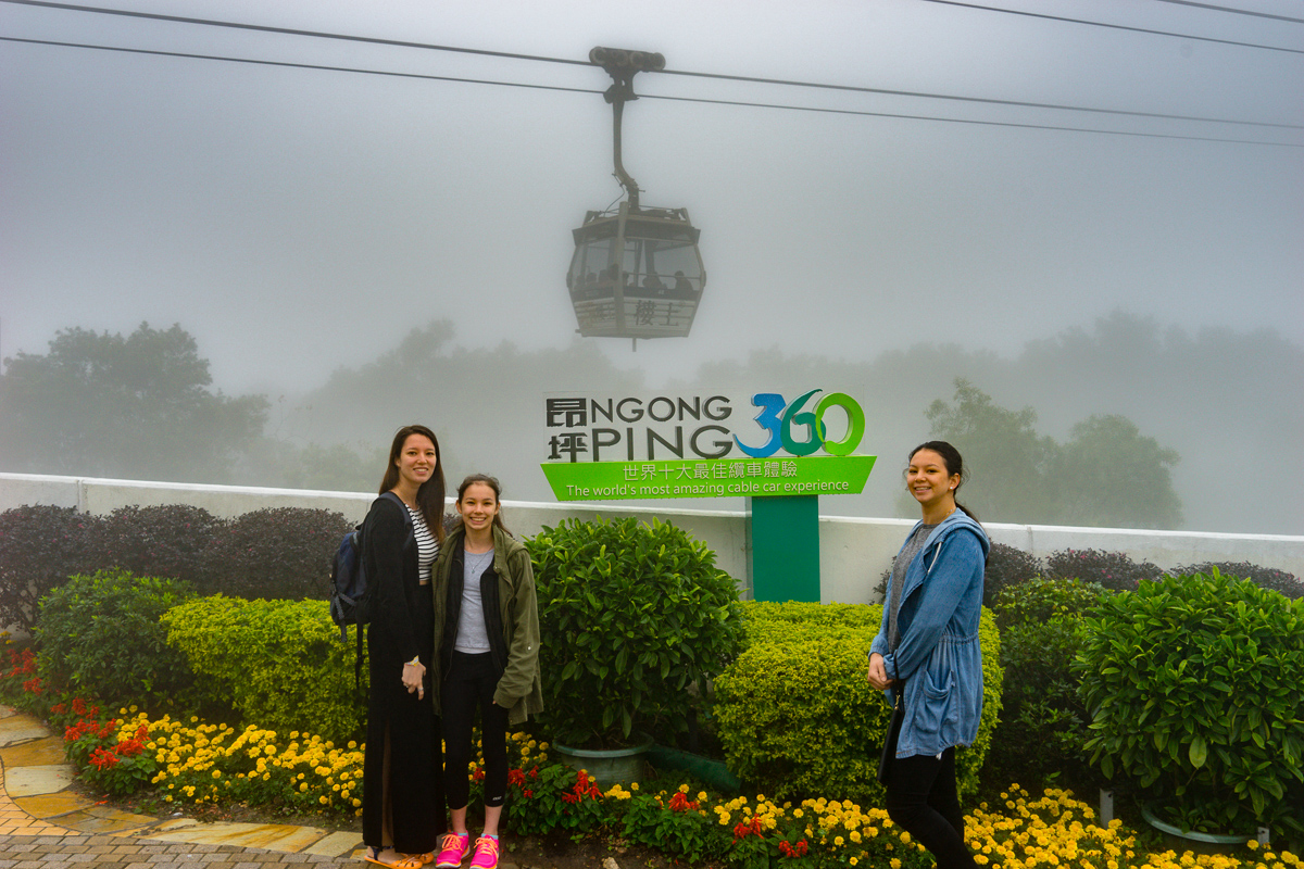 A photograph At Ngong Ping Station near Tian Tan Buddha