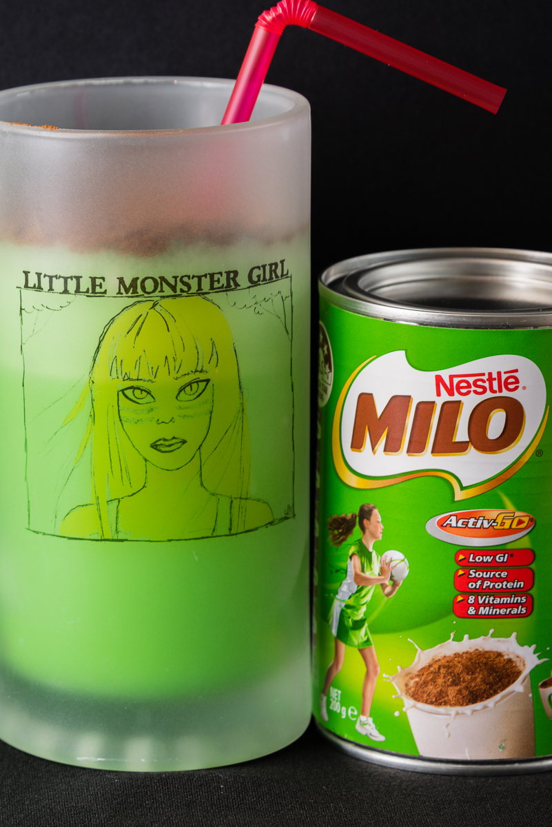 Photograph of Mint and Milo Milkshake for Monday link love