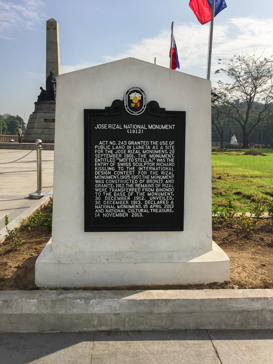 Gary Lum Jose Rizal National Monument