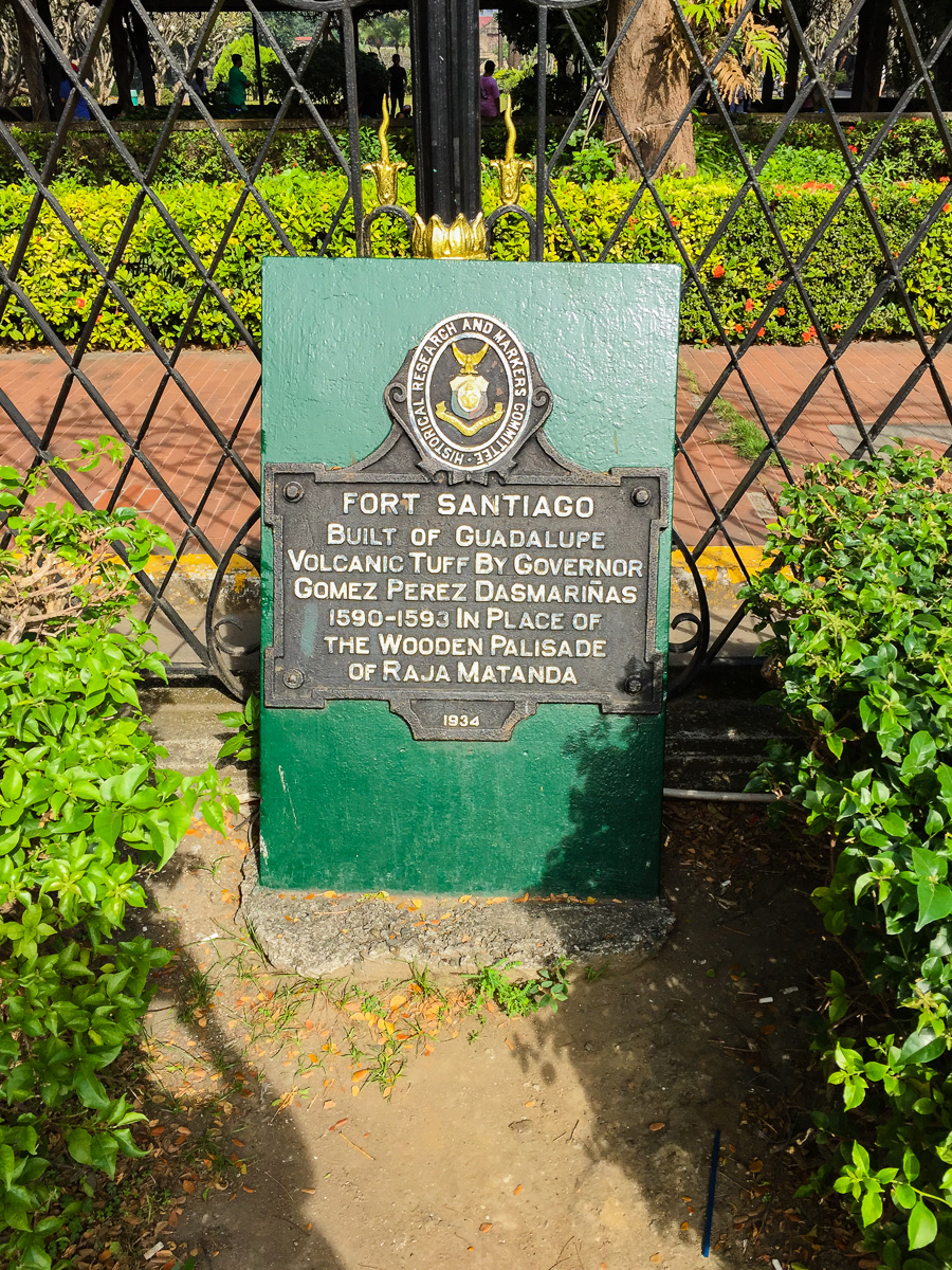 Gary Lum Fort Santiago
