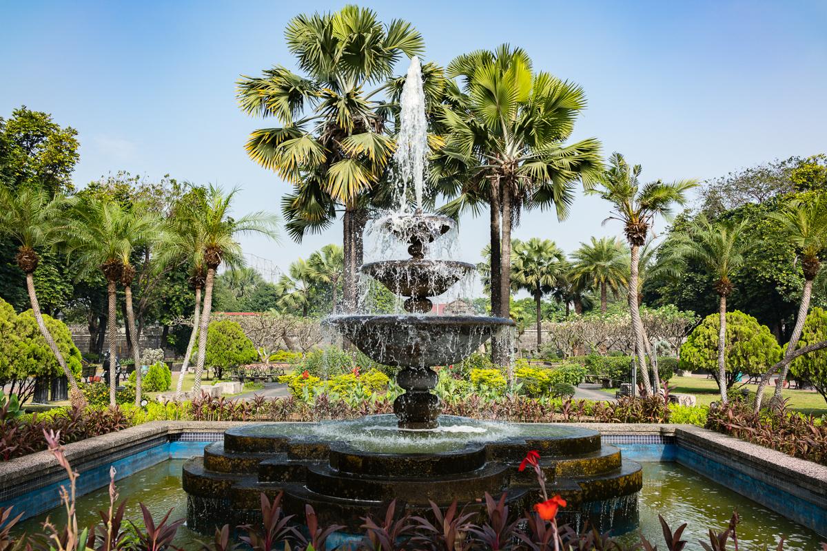 Gary Lum Fort Santiago fountain