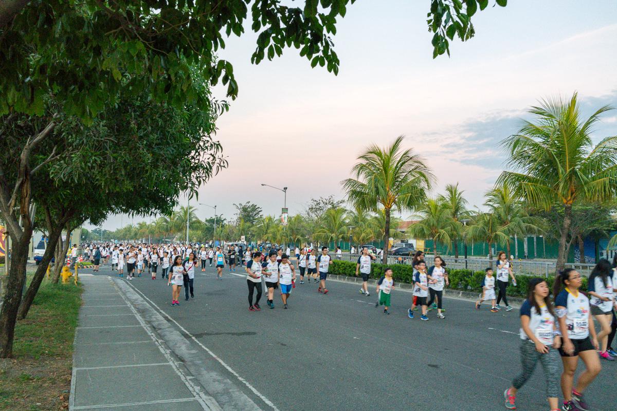 Manila fun run