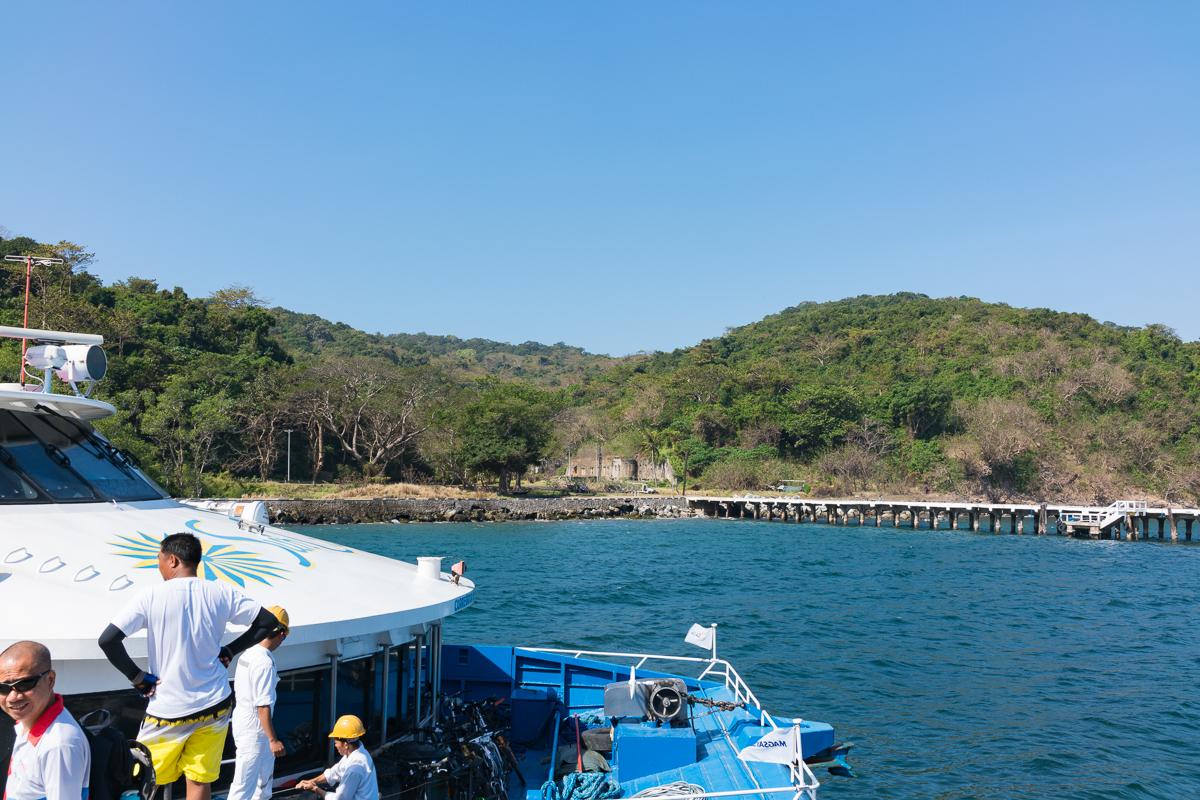 Mooring on Corregidor Island
