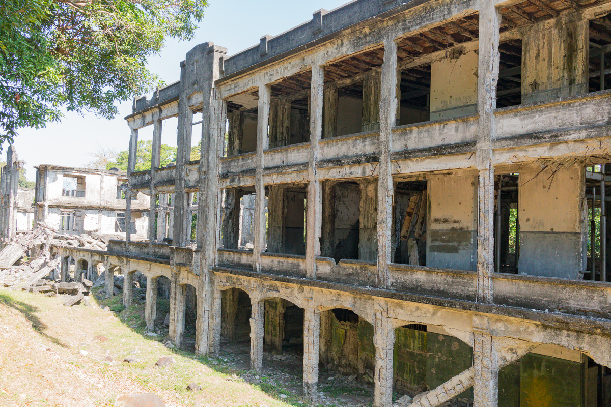 Middleside Barracks on Corregidor Island