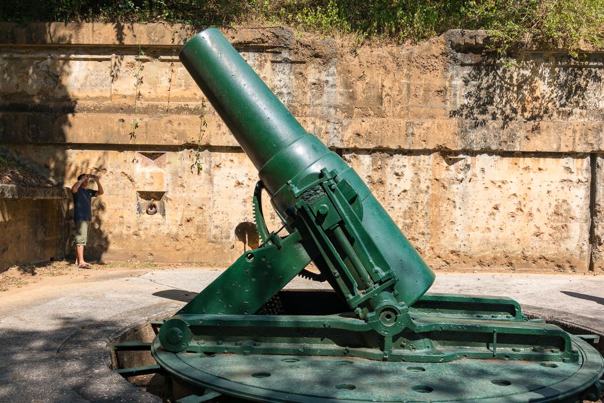 Battery Way on Corregidor Island